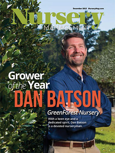 Nursery Management - Grower of the Year: Dan Batson, GreenForest Nursery